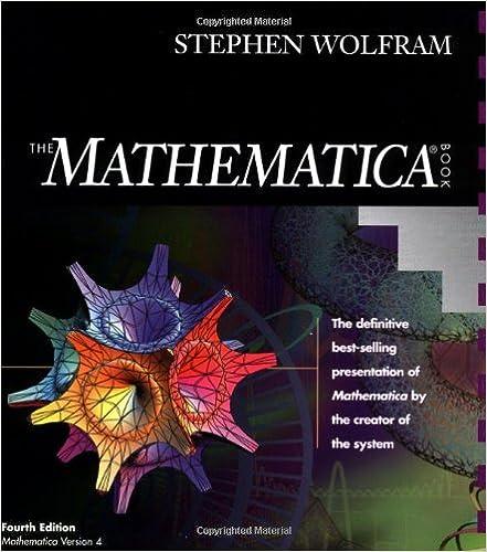 The mathematica ® book, version 4: stephen wolfram: 9780521643146.