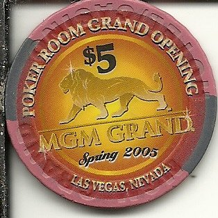 $5 mgm grand poker room grand opening 2005 las vegas casino (Grand Opening Las Vegas Casino)