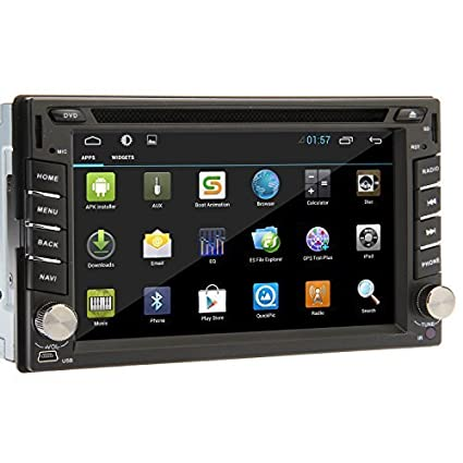 amazon com ouku universal 6 2 inch android 4 4 2din in dash car rh amazon com Ouku Car DVD Player Ouku Car DVD Player Review