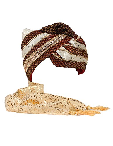 Sunshine Joy Safa Indian Wedding Turban (Ideas For Gypsy Halloween Costume)