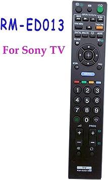 Ochoos RM-ED013 - Mando a Distancia para Sony Bravia TV RMED013 KDL-19L4000 KDL-26E4000 Fernbedienung: Amazon.es: Electrónica