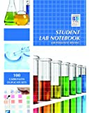 Student Lab Notebook: Top Bound 100 Carbonless Duplicate Sets