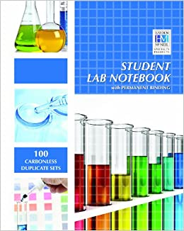 Student Lab Notebook: Top Bound 100 Carbonless Duplicate Sets ...