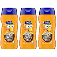 Suave Kids 2-in-1 Shampoo and Conditioner - Cowabunga Coconut - 12 ounces (Pack of 3)