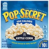 kettle corn gift basket - Pop Secret Snack Size 100 Calorie Kettle Corn, Microwavable Popcorn, 10-Count, 11.2-Ounce Box (Pack of 3)