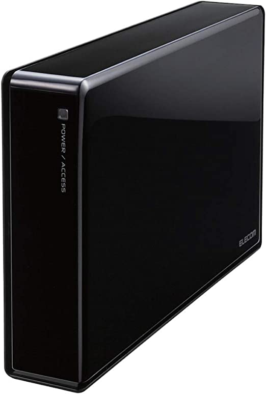 エレコム 外付けHDD Desktop Drive RED搭載 USB3.0 4.0TB 法人向け ELD-REN040UBK