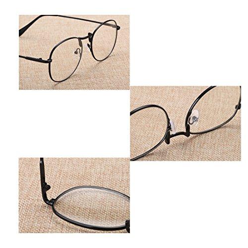 Golden résine rond cadre de rétro en lunettes femmes Aiweijia lunettes myopie plein et Hommes lentilles vxWCa6q1f
