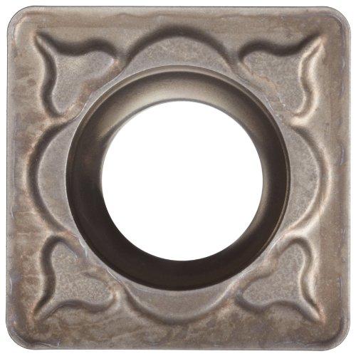 Sandvik Coromant CoroTurn 107 Cermet Turning Insert, SCMT, Square, PM Chipbreaker, CT5015 Grade, Uncoated, SCMT 3(2.5)2-PM, 3/8