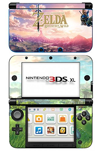 The Legend of Zelda: Breath of the Wild Game Skin for Nintendo 3DS XL Console 100% Satisfaction Guarantee!
