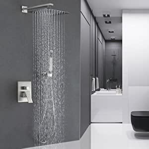 Esnbia Luxury Rain Shower Systems Wall Mounted Shower