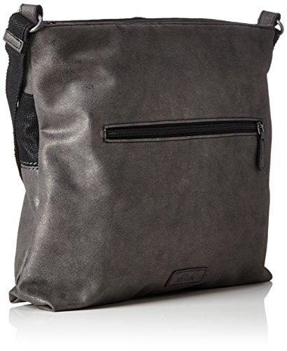 s.Oliver (Bags) 39.712.94.4502 - Shoppers y bolsos de hombro Mujer Negro (Black/schwarz)