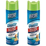 Woolite Heavy Traffic Carpet Foam + Protection Cleaner, 22 fl oz (Pack of 2)