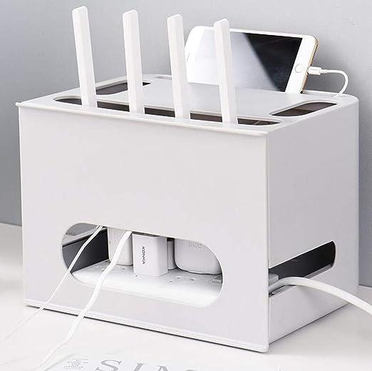 Estante flotante Estante para televisor flotante Estante de la caja de conexión Router Wifi inalámbrico Caja