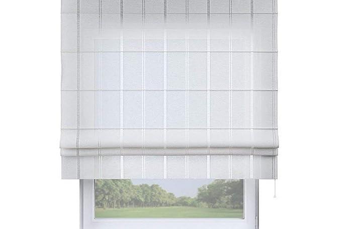 Raffrollo Weiß Transparent - maßgefertigt: Amazon.de: Handmade