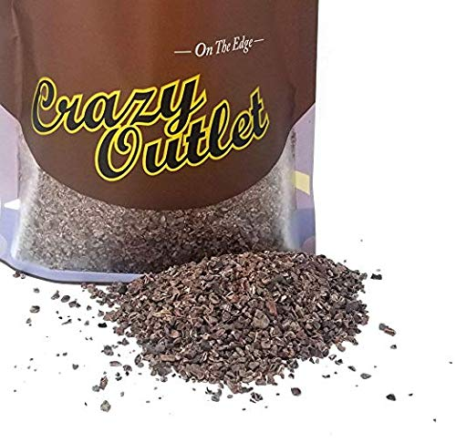 - CrazyOutlet Pack - Scharffen Berger Cocoa Nibs, Roasted Shelled Cocoa Beans, Natural Bulk Pack, 1 lb
