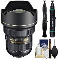 Nikon 14-24mm f/2.8G ED AF-S Zoom-Nikkor Lens + Nikon Cleaning Kit for D3200, D3300, D5300, D5500, D7100, D7200, D750, D810 Cameras