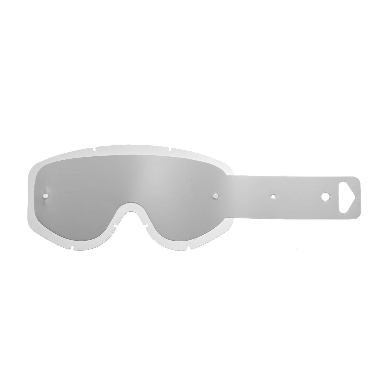 SeeCle 415004 lenti combo trasparente con 10 tear off compatibile con maschera Scott 83//89 Recoil 89 Xi