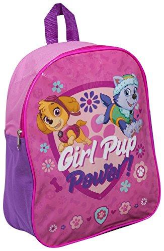 Children Kids Paw Patrol Girl Pup Power Girls Travel Shoulder Backpack