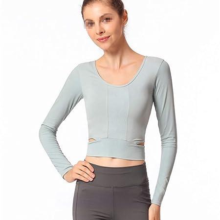 Top de yoga para mujer Tops de mujer Camisetas sin mangas de ...
