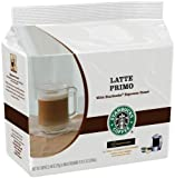 Starbucks Latte Primo, T-Discs for Tassimo Coffeemakers, 16-Count Packages (Pack of 5)