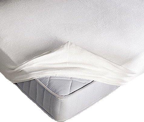Coprimaterasso Elasticizzato in spugna con angoli ed elastici cm. 90X200 misura 1 PIAZZA SINGOLO altezza materasso cm 25 Prezzi offerte