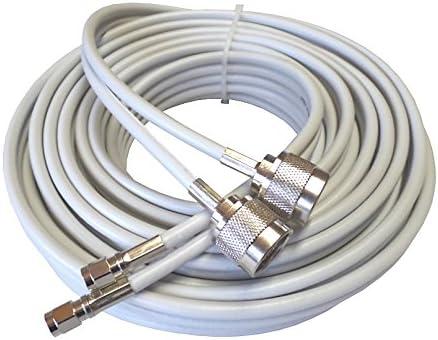 10 M alta calidad Low Loss Twin de cable coaxial de antena ...