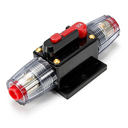 4 opinioni per Portafusibili con interruttore di circuito in linea Buwico® CC da 12 V 20 A/30