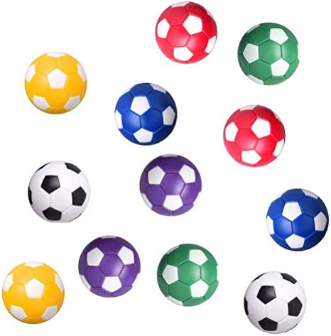 Yeahibaby 12 unids Table Soccer Foosballs Reemplazo Bolas Mini Oficial Tabletop Juego de Pelota de Fútbol Accesorio: Amazon.es: Juguetes y juegos