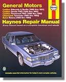 H38031 Haynes GM Cadillac Eldorado Seville Deville Buick Riviera Oldsmobile Toronado 1986-1993 Auto Repair Manual