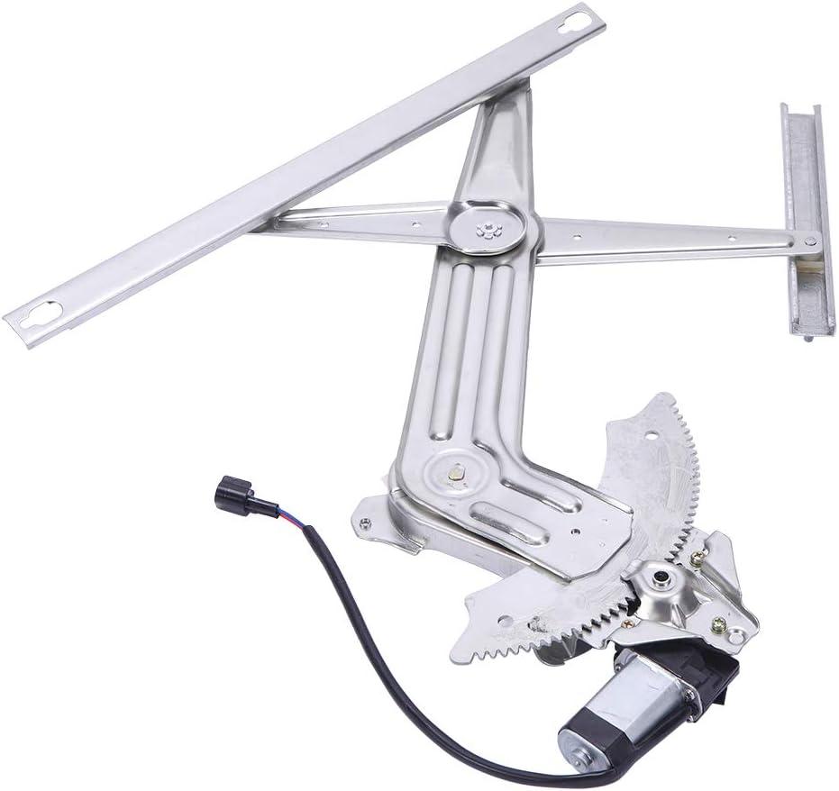 Front Left Power Window Regulator with Motor Fit for 2002 2003 2004 2005 2006 2007 2008 2009 2010 Dodge Ram