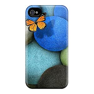New Arrival Premium 4/4s Case Cover For Iphone (lonely Butterfly)