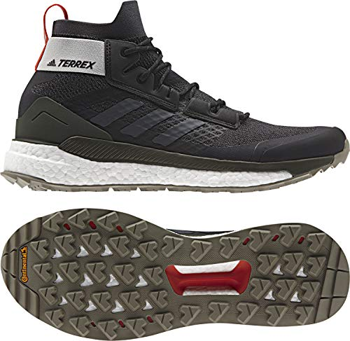 adidas outdoor Terrex Free Hiker Boot - Men's Black/Grey Six/Night Cargo