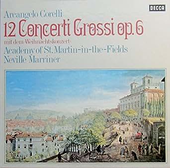 """Corelli: 12 Concerti Grossi op. 6 (mit dem """"Weihnachtskonzert"""") [Vinyl Schallplatte] [3 LP Box-Set]"""