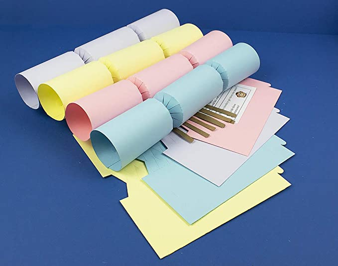 8 Gold /& Silver Mix Make /& Fill Your Own DIY Christmas Cracker Craft Kit