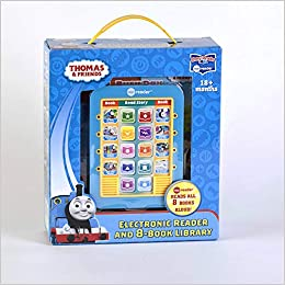 Amazon com: Thomas & Friends - Me Reader Electronic Reader and 8