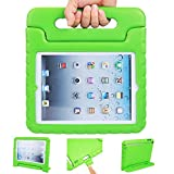 iPad case, iPad 2 3 4 Case, ANTS TECH Light Weight [ Shockproof ] Cases Cover with Handle Stand for Kids Children for iPad 2 & iPad 3 & iPad 4 (iPad 234, Green)