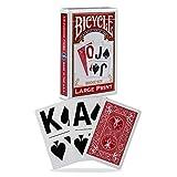 Bicycle Large Print Playing Cards