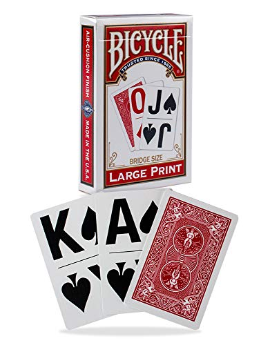 (Bicycle 1026098  Large Print Playing Cards (assorted))