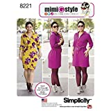 Simplicity Pattern 8221 BB Mimi G Style Dress for Miss and Plus...