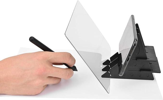 GZ HaiQianXin Tablero de trazado de Dibujo Plantilla Caja de luz Espejo Reflejo Impermeable teléfono atenuación Tablero de luz para niños, Pintores, Artistas: Amazon.es: Electrónica