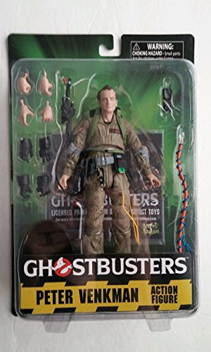 "Ghostbusters Peter Venkman Diamond Select Toys 7"" inch Action Figure Exclusive"