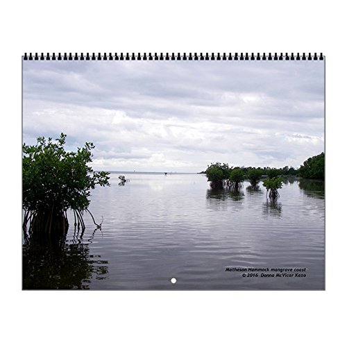CafePress - Canoe View - 2017 Wall Calendar, Quality High-Gl