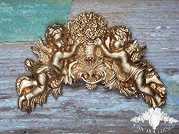 Amazon.de: furniture applique shabby chic moulding appliques gold
