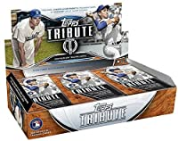 2018 Topps Tribute Baseball Hobby Box (6 Packs/Box, 3 Cards/Pack: 3 Autographs, 3 Memorabilia)