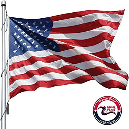 Endura-Nylon California State Flag Eder Flag 5X8 Foot Indoor /& Outdoor Durable Proudly Made in The USA Quality Craftsmanship Fade-Resistant