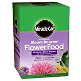 Miracle-Gro 1360011 Water Soluble Bloom Booster Flower Food, 10-52-10, 1-Pound