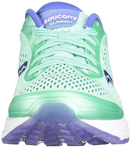 Scarpe Aqua Saucony Donna Blau Running da Clarion Violet 035 PCF5Cq