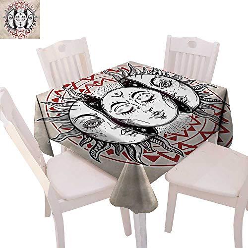 Amazon com: BlountDecor Moon Dinner Picnic Table Cloth