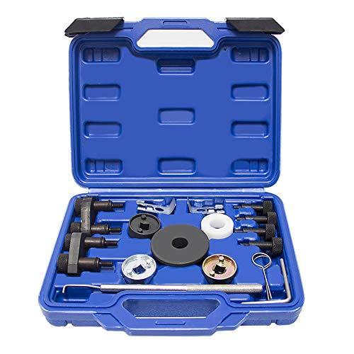 (Wisamic Engine Camshaft Locking Alignment Timing Tool Kit for Audi VW Skoda VAG 1.8 2.0 TFSI EA888 SF0233)