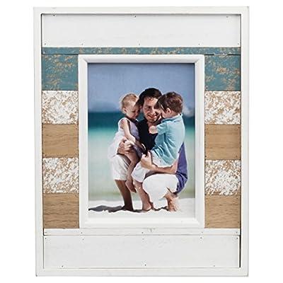 PRINZ Boardwalk Multi -Colored Plank 4x6 Frame -  - picture-frames, bedroom-decor, bedroom - 51IILsWgkgL. SS400  -